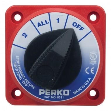 Chave Geral Perko Quadrada P/2 Baterias