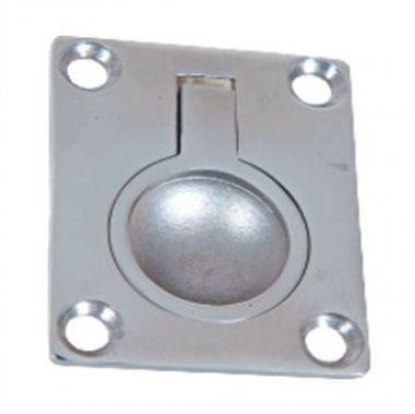 Puxador Inox Náutico 3,8 x 4,8 cm lancha