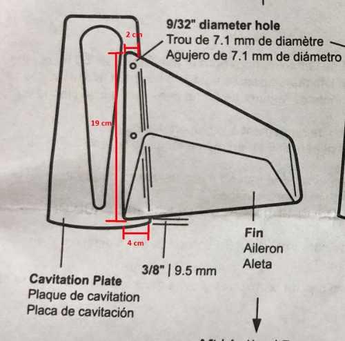 Hidrofólio Estabilizador Até 50hp Motor De Popa Lancha
