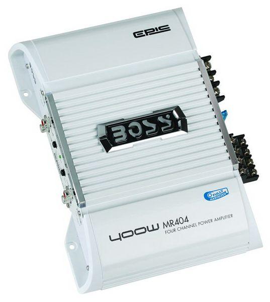Amplificador de som Boss Marine 400W Mr404