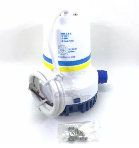 Bomba De Porão 2000 Gph Seachoice - Uso Náutico Lancha Barco