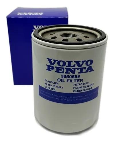 Filtro de óleo Volvo Penta 3850559 - 4.3 5.0 5.7 7.4 V6 V8