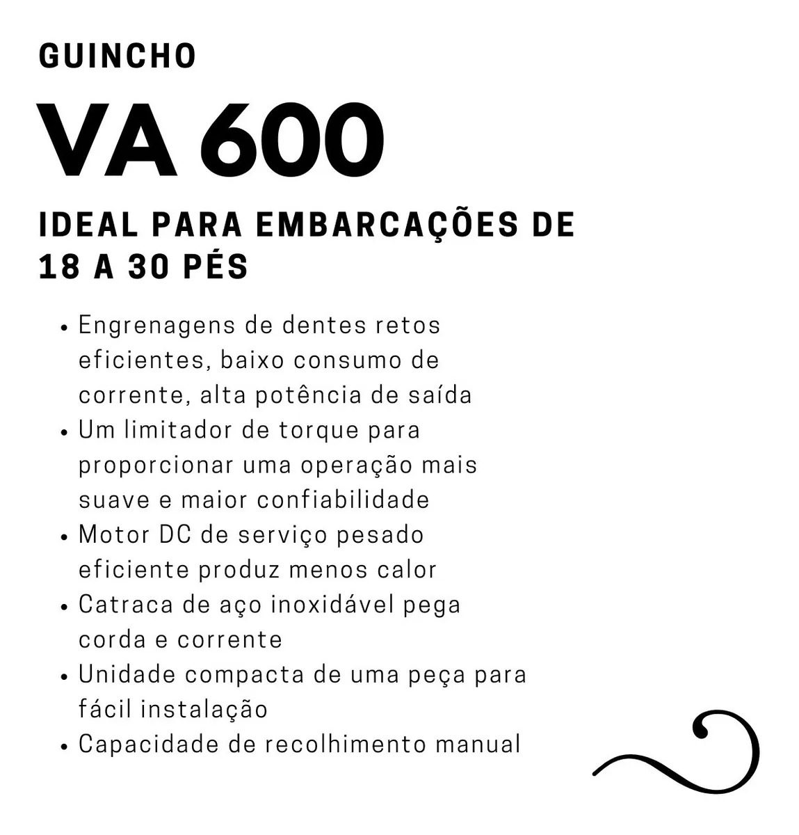 Guincho Elétrico VA 600