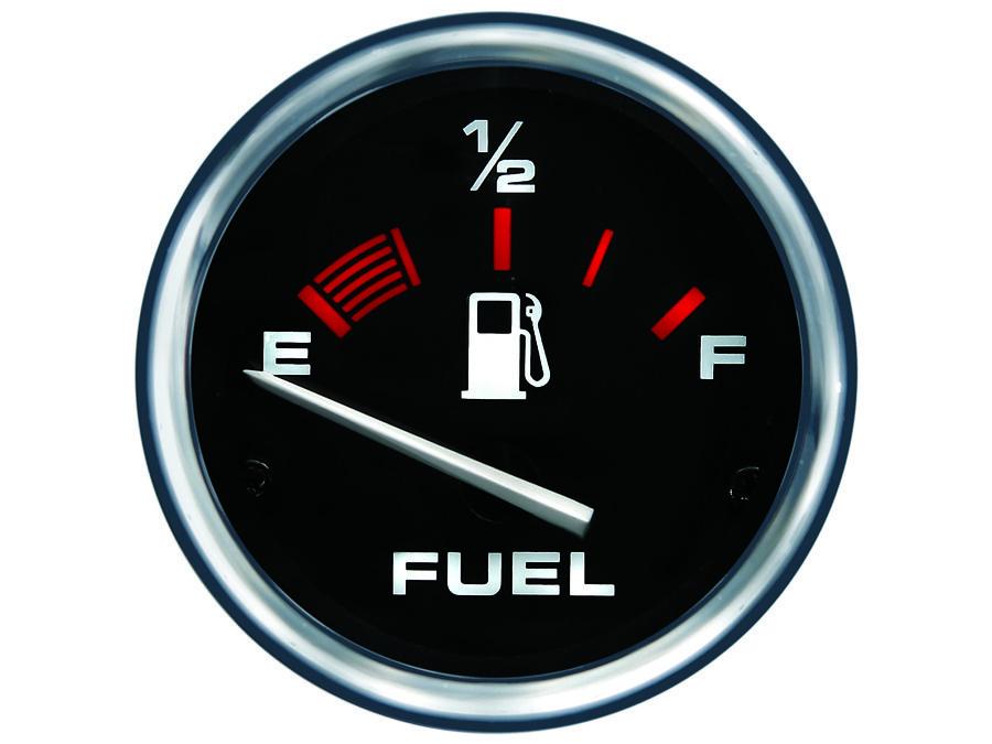 Relógio Ind. de Nível de Combustível. PR/CR