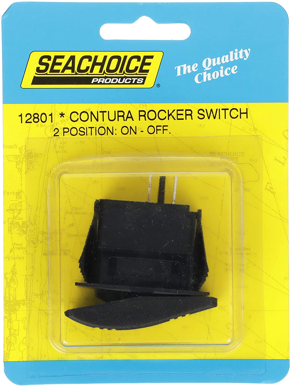 Interruptor On Off Preto Seachoice Lancha