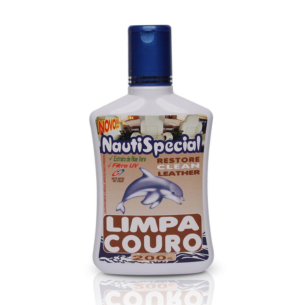 Limpa Couro 200 ml nautispecial Lancha uso náutico