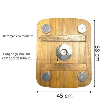 Mesa Náutica  45 X 58 Cm