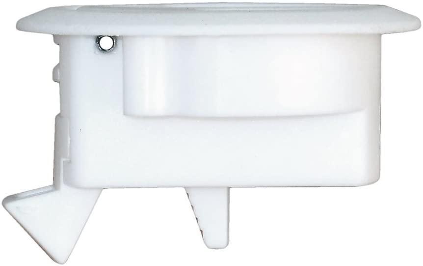 Puxador em Plastico 6,2 Cm Branco