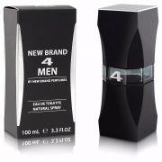 4 Men New Brand Masculino Eau de Toilette 100ML