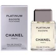 Chanel Platinum Egoiste Pour Homme Masculino Eau de Toilette  100ml