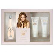 Kit Glow Jennifer Lopez Eau de Toilette100ml +75ml Gel de banho + 75ml Body Lotion