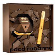 Kit Lady Million Privé Paco Rabanne Feminino EDP 50ml + Spray 10ml