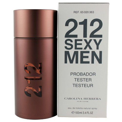 212 Sexy Men Carolina Herrera Masculino Eau de Toilette 100ml - Tester