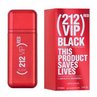 212 Vip Black Red Carolina Herrera  Eau de Parfum Masculino 100ml