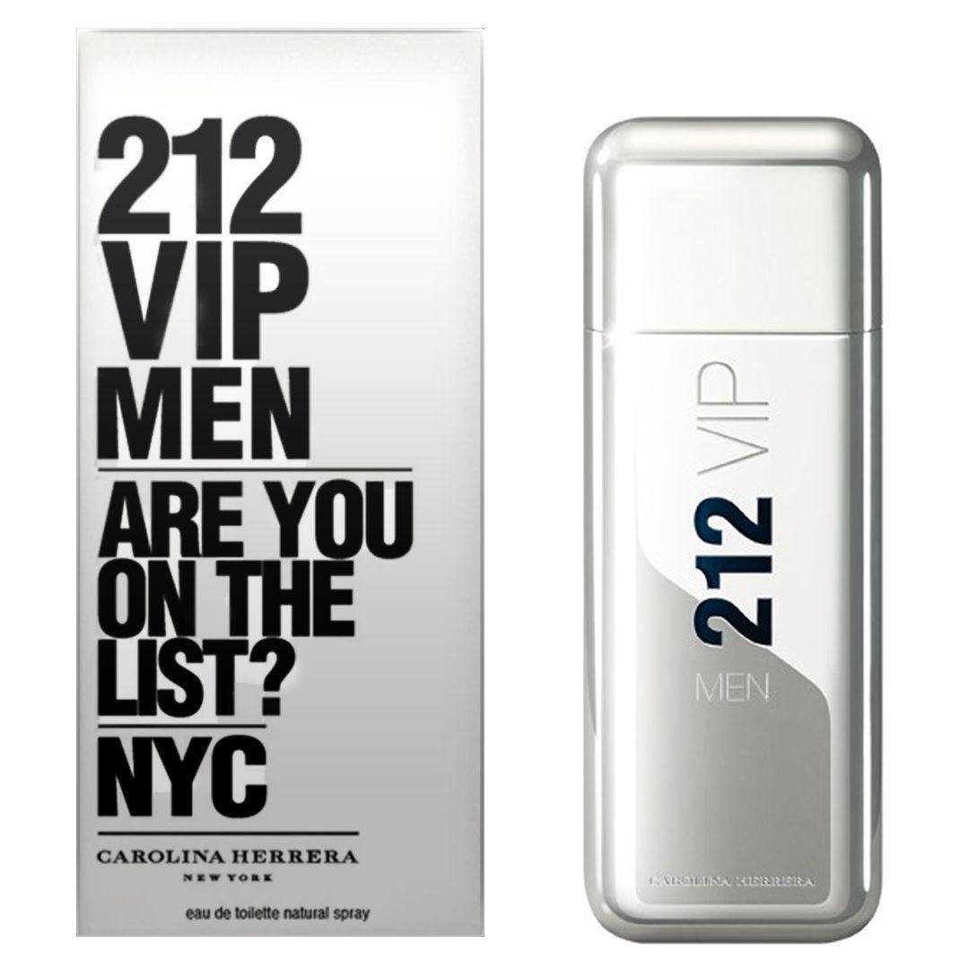 212 Vip Men Carolina Herrera Masculino Eau de Toilette