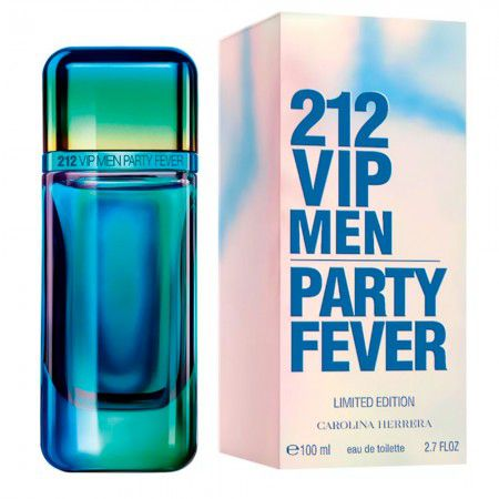 212 VIP Men Party Fever Carolina Herrera Masculino Eau de Toilette 100ml