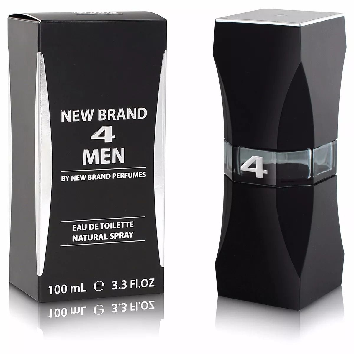 4 Men New Brand Masculino Eau de Toilette 100ML