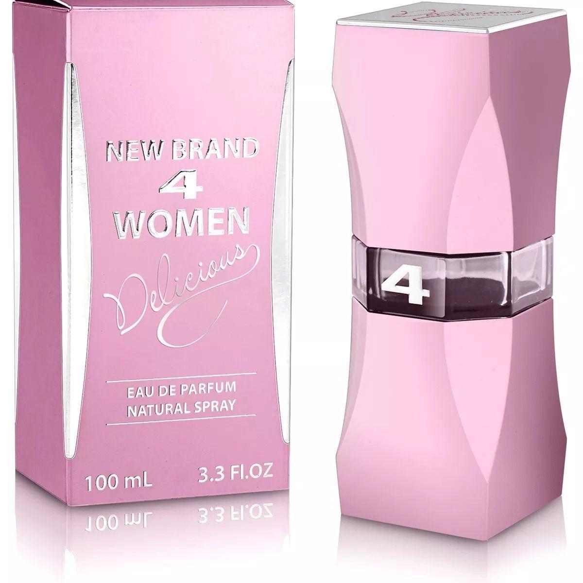 4 Women Delicious New Brand Feminino Eau de Parfum 100ML