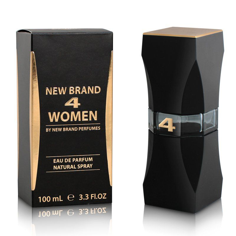 4 Women New Brand Feminino Eau de Parfum 100ML
