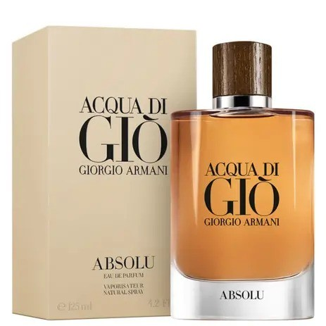 Acqua Di Gio Absolu Giorgio Armani Masculino Eau de  Parfum125 ml