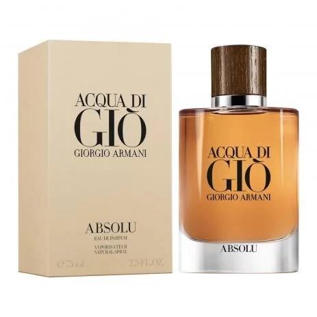 Acqua Di Gio Absolu Giorgio Armani Masculino Eau de  Parfum 75 ml