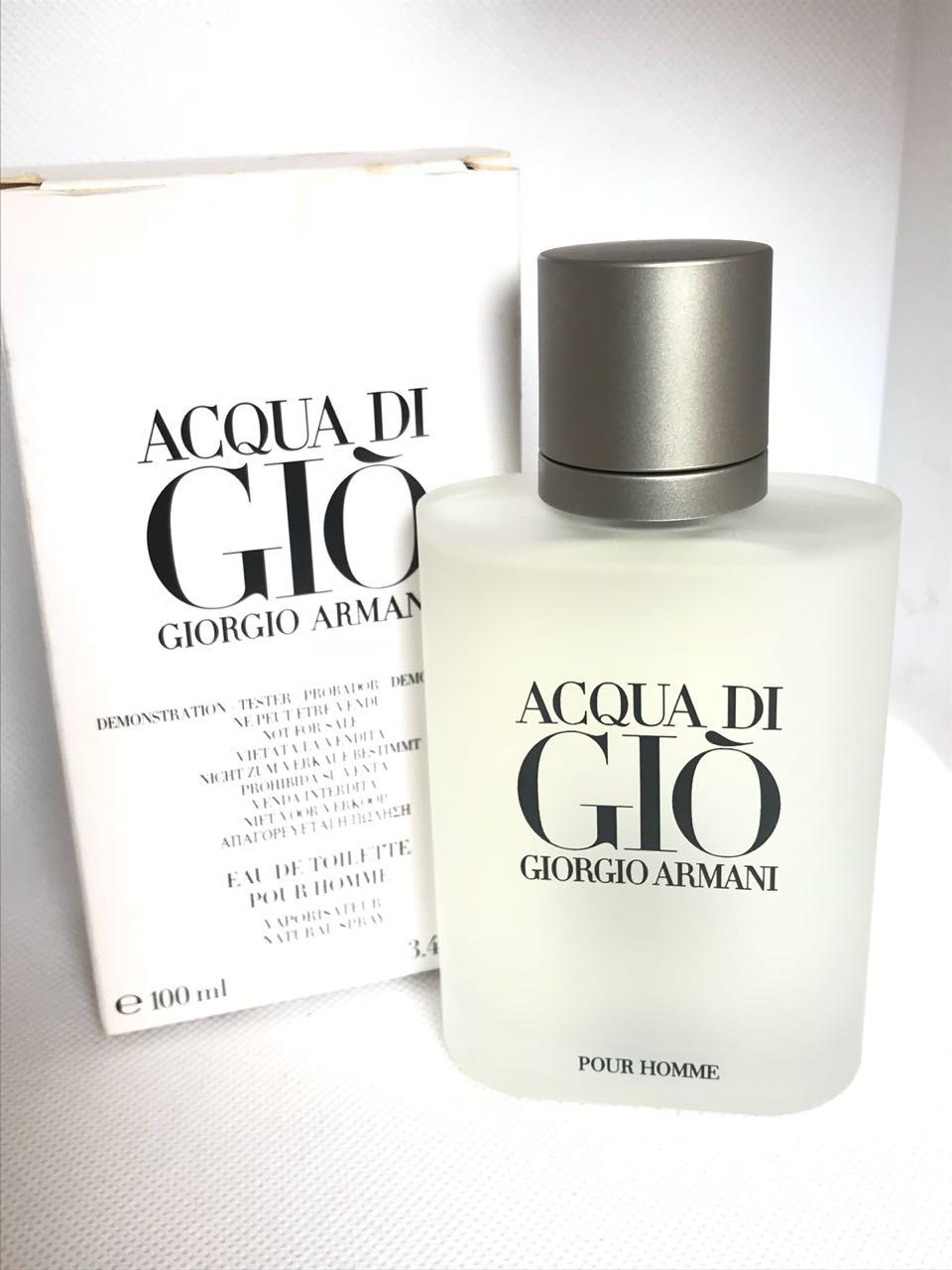 Acqua Di Gio Giorgio Armani Masculino Eau de Toilette 100ML Tester