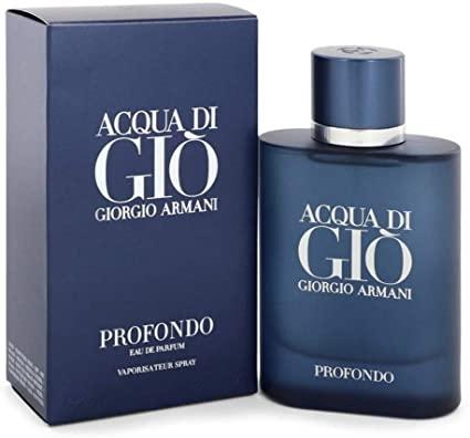 Acqua Di Gio Profondo Giorgio Armani Eau de Parfum Masculino 125ml