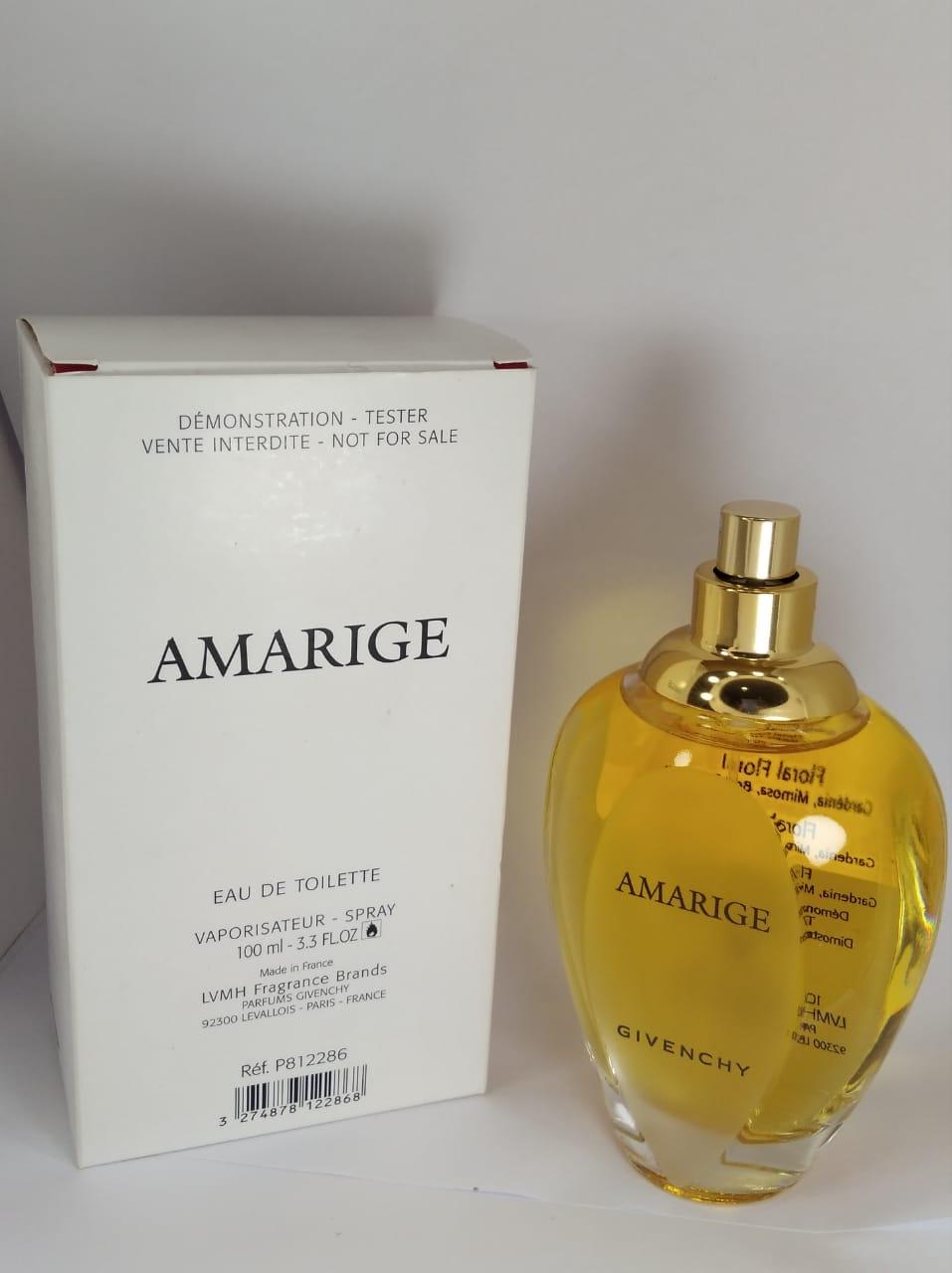 Amarige Givenchy Feminino Eau de Toilette 100 ml - Tester