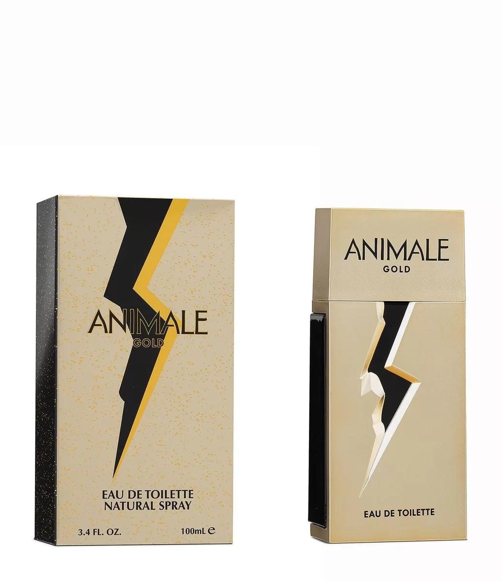 Animale Gold Masculino Eau de Toilette 100ml