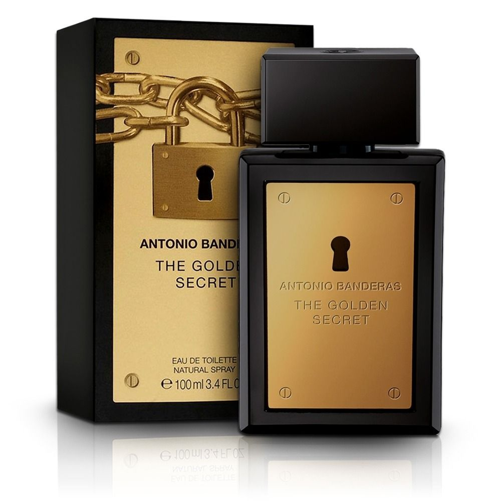 The Golden Secret Antonio Banderas Masculino Eau de Toilette