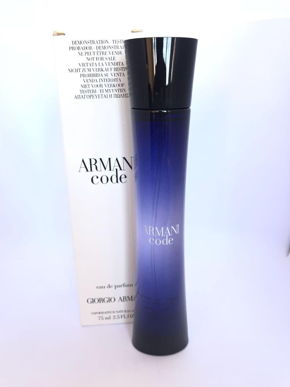Armani Code Giorgio Armani Feminino Eau de Parfum 75ML - Tester