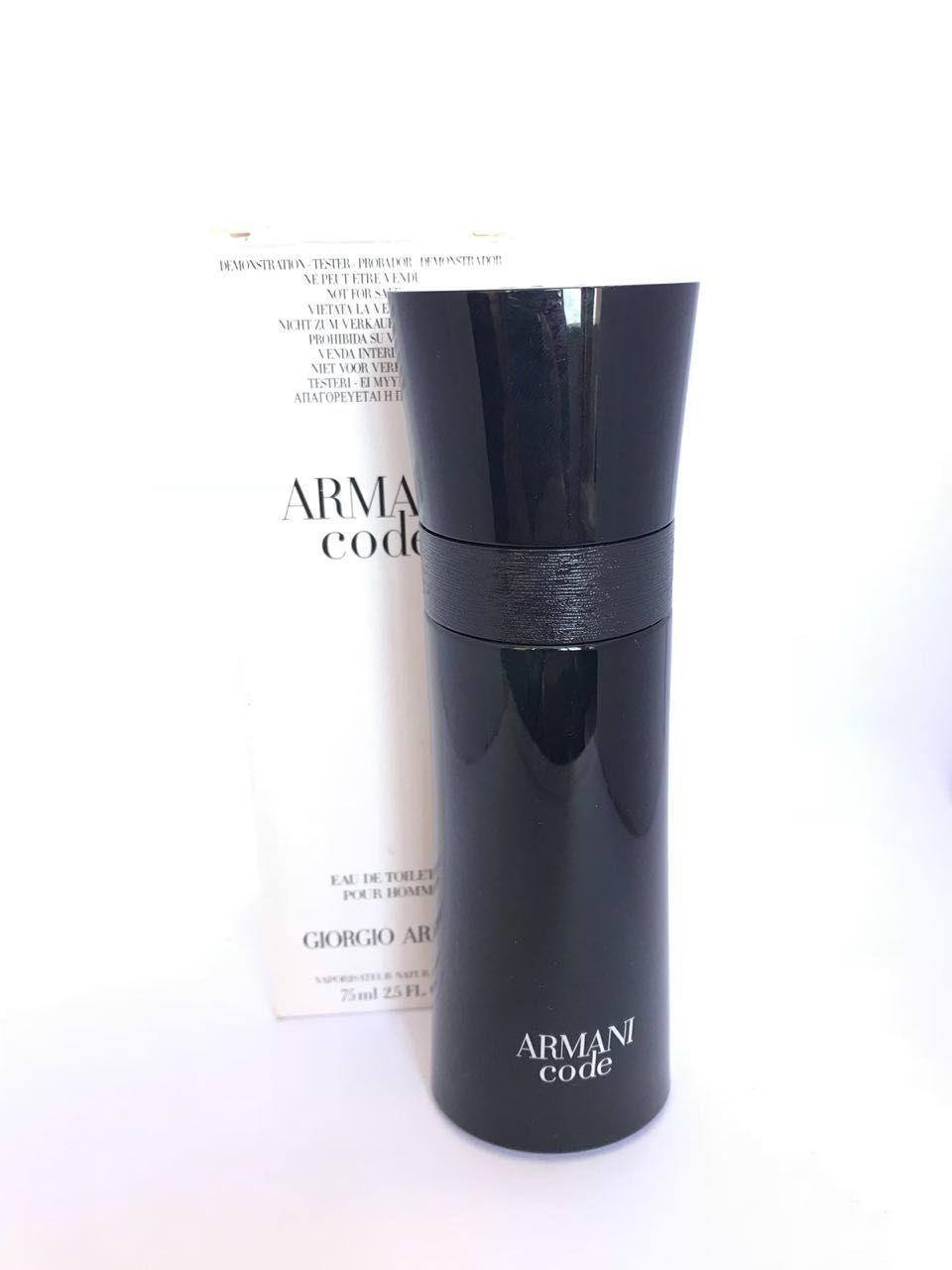 Armani Code Pour Homme Giorgio Armani Masculino Eau de Toilette 75ML - Tester