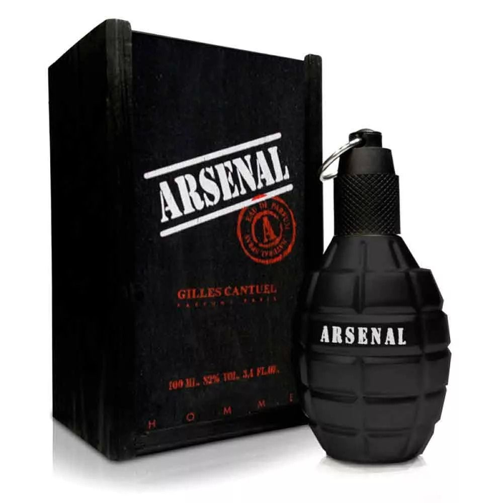 Gilles Cantuel Arsenal Black Masculino Eau de Parfum 100ML