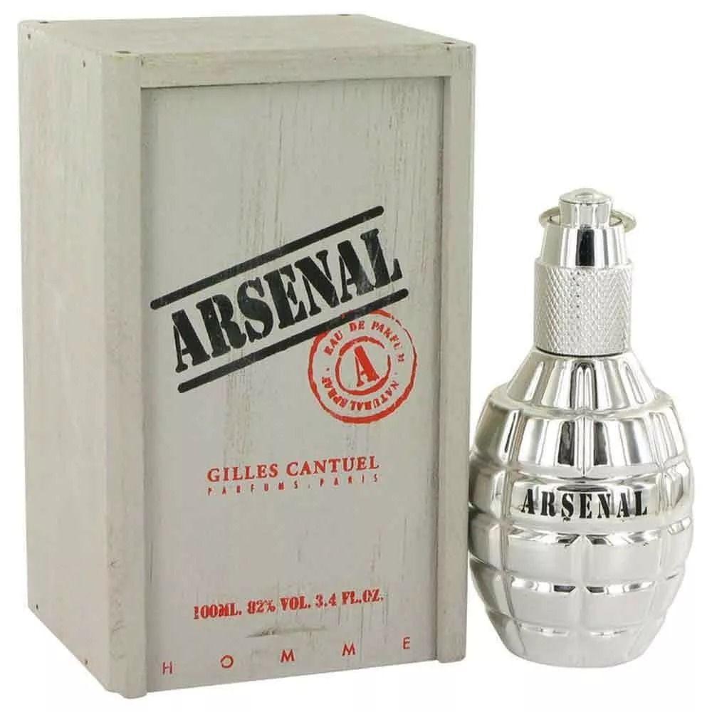 Arsenal Platinum Gilles Cantuel Masculino Eau de Pafum 100ML