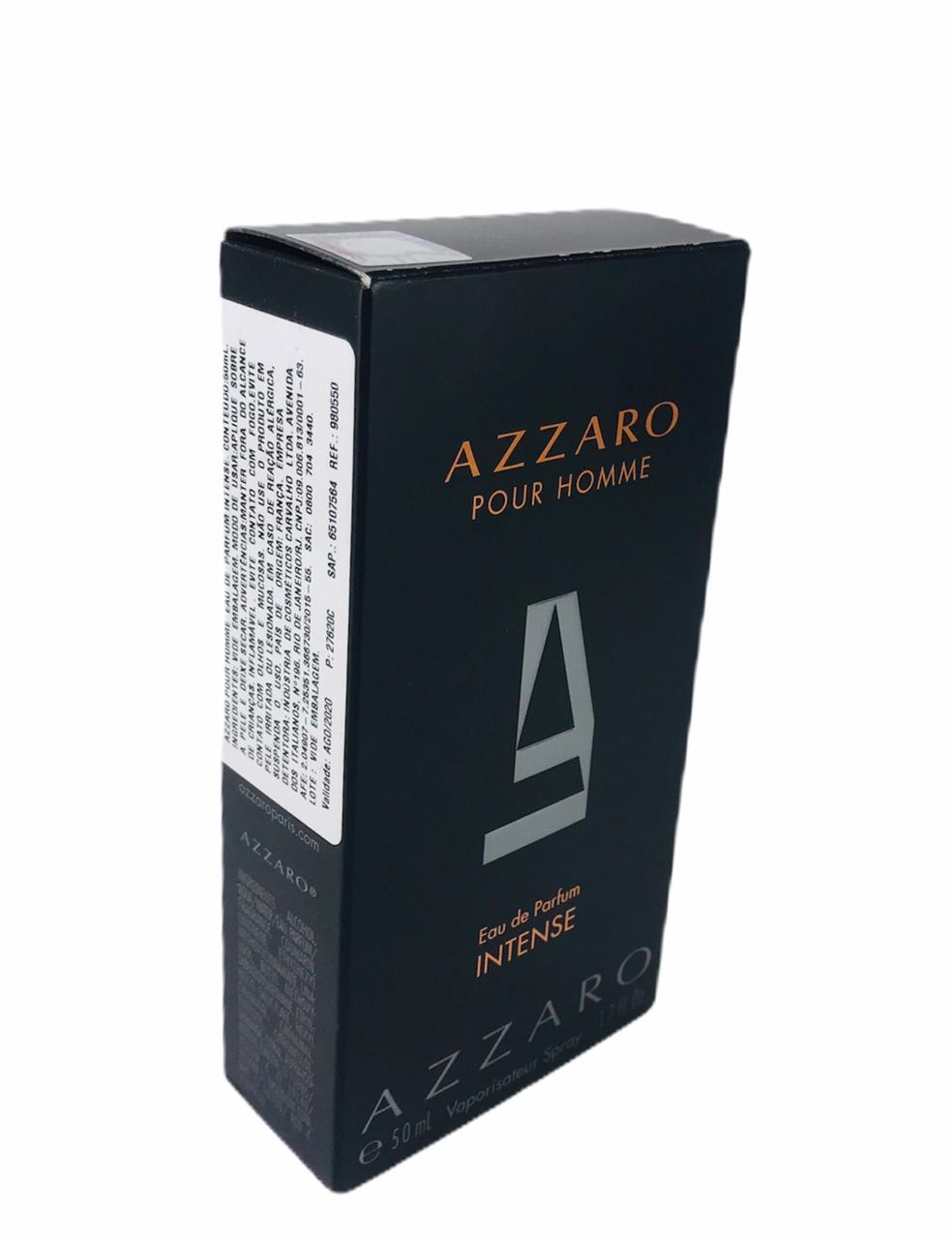 Azzaro Pour Homme Intense Masculino Eau de Parfum 50ml - TESTER