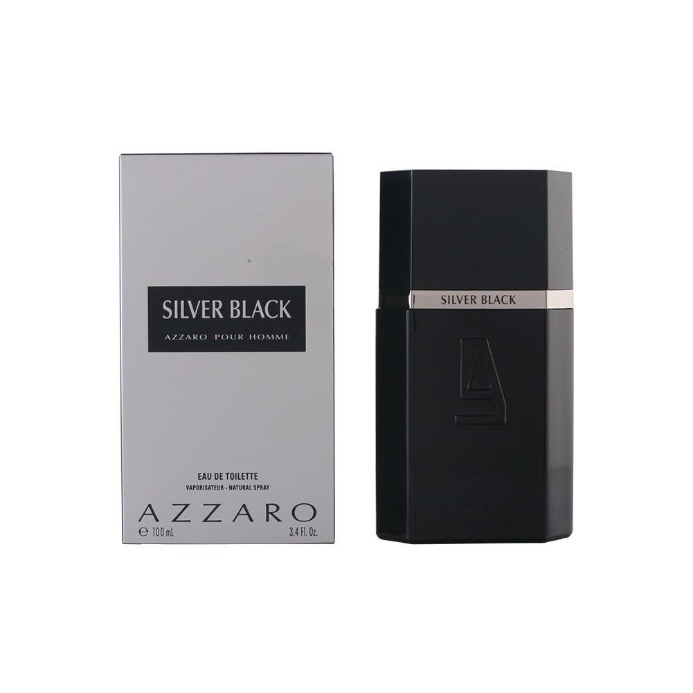 Silver Black Azzaro Masculino Eau de Toilette 100ML