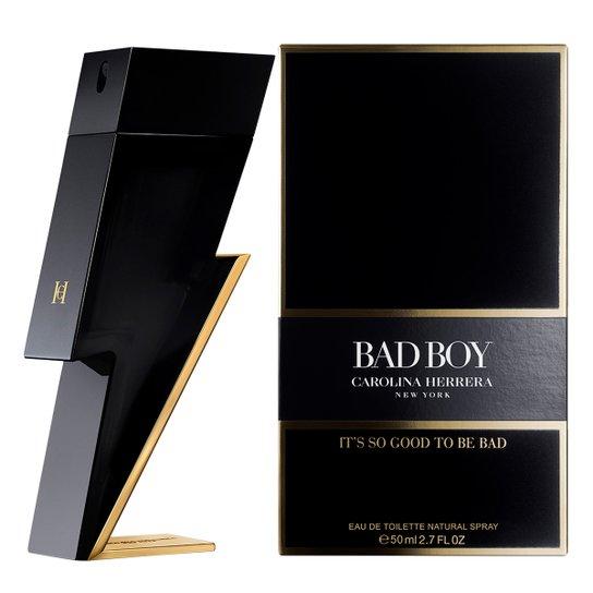 Bad Boy Carolina Herrera Masculino Eau de Toilette 50ml