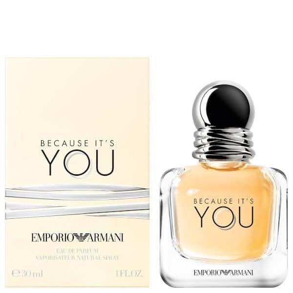 Because It's You Emporio Armani Femino Eau de Parfum