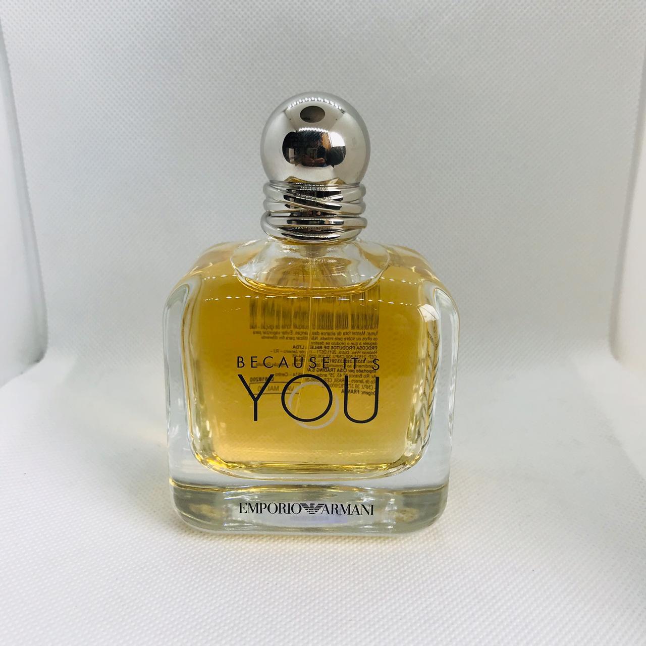 Because It's You Emporio Armani Femino Eau de Parfum - Tester 100 ml