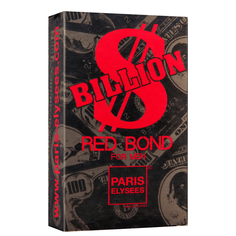 Billion Red Bond Paris Elysees Masculino Eau de Toilette 100ml