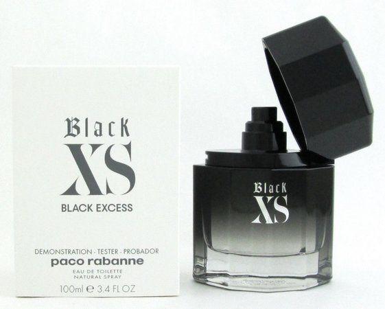 Black XS Paco Rabanne Masculino Eau de Toilette 100ML - Tester