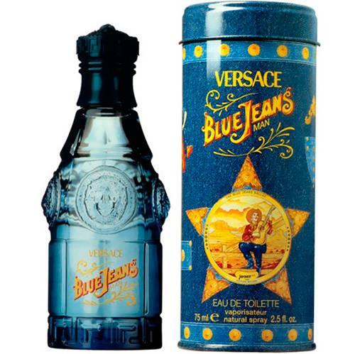 Blue Jeans Versace  Masculino Eau de Toilette 75ml