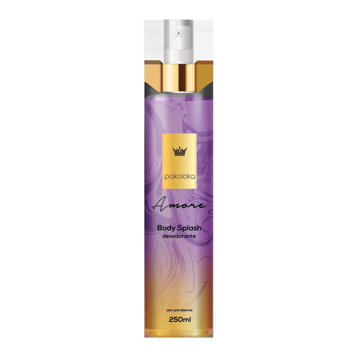 Body Splash Perfumado Amore Pokaloka 250ml