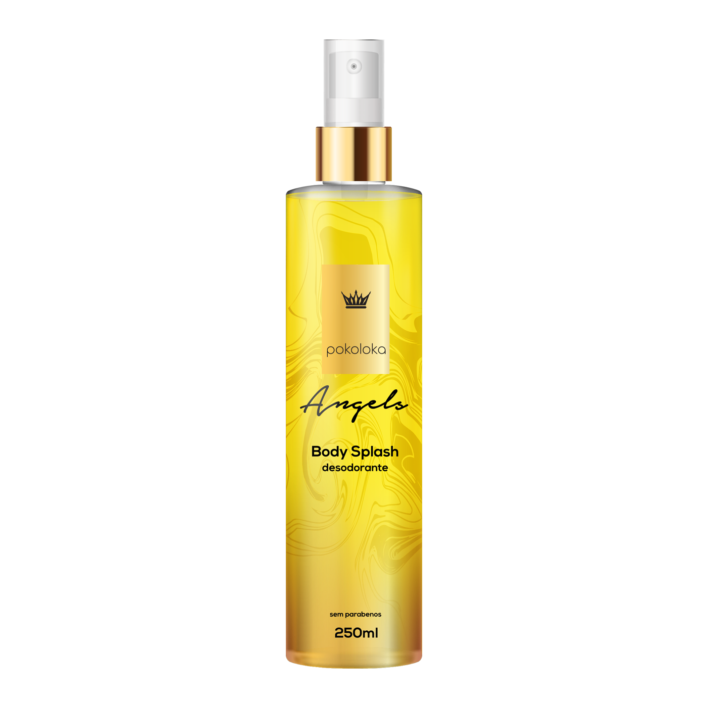 Body Splash Perfumado Angels  Pokaloka 250ml