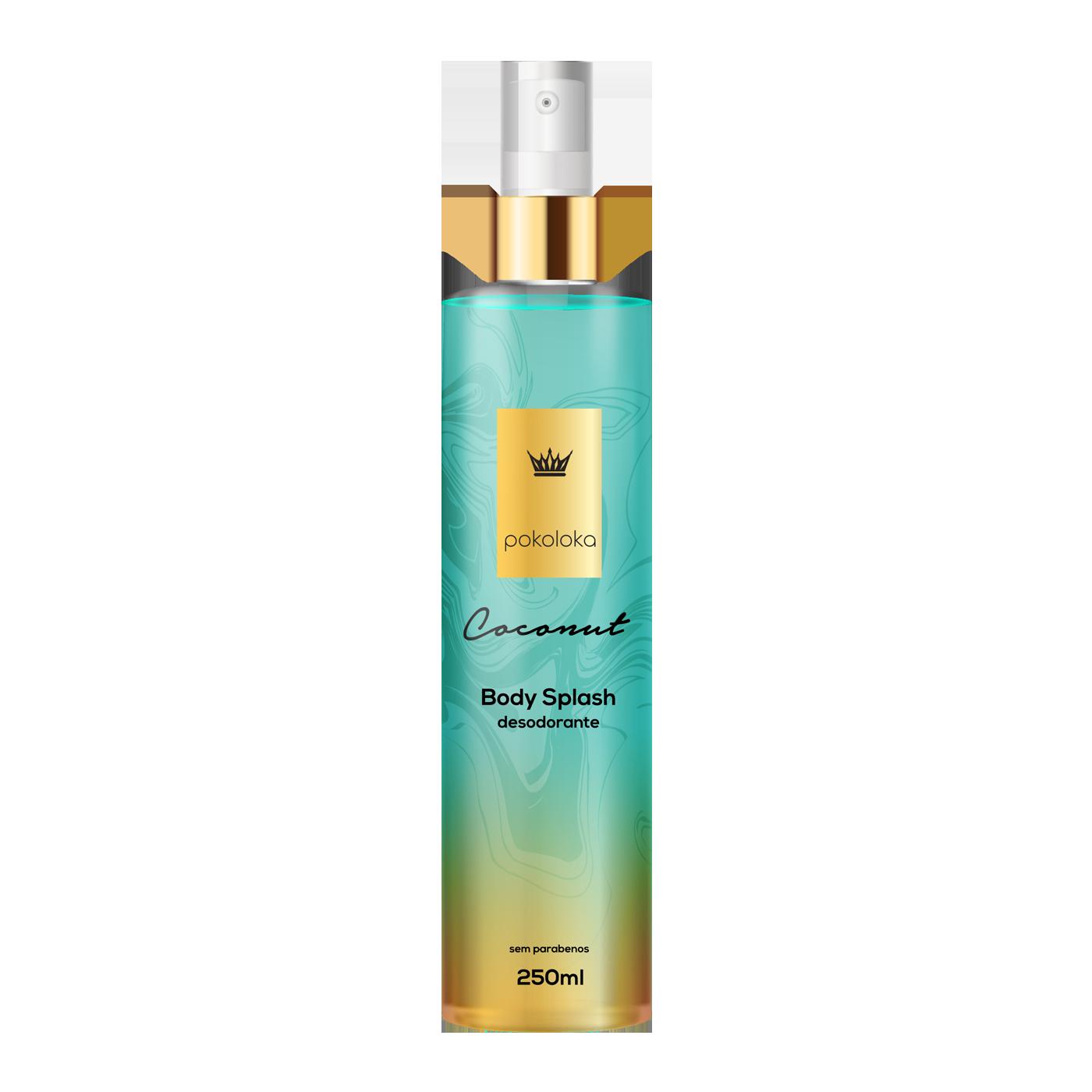 Body Splash Perfumado Coconut Pokaloka 250ml
