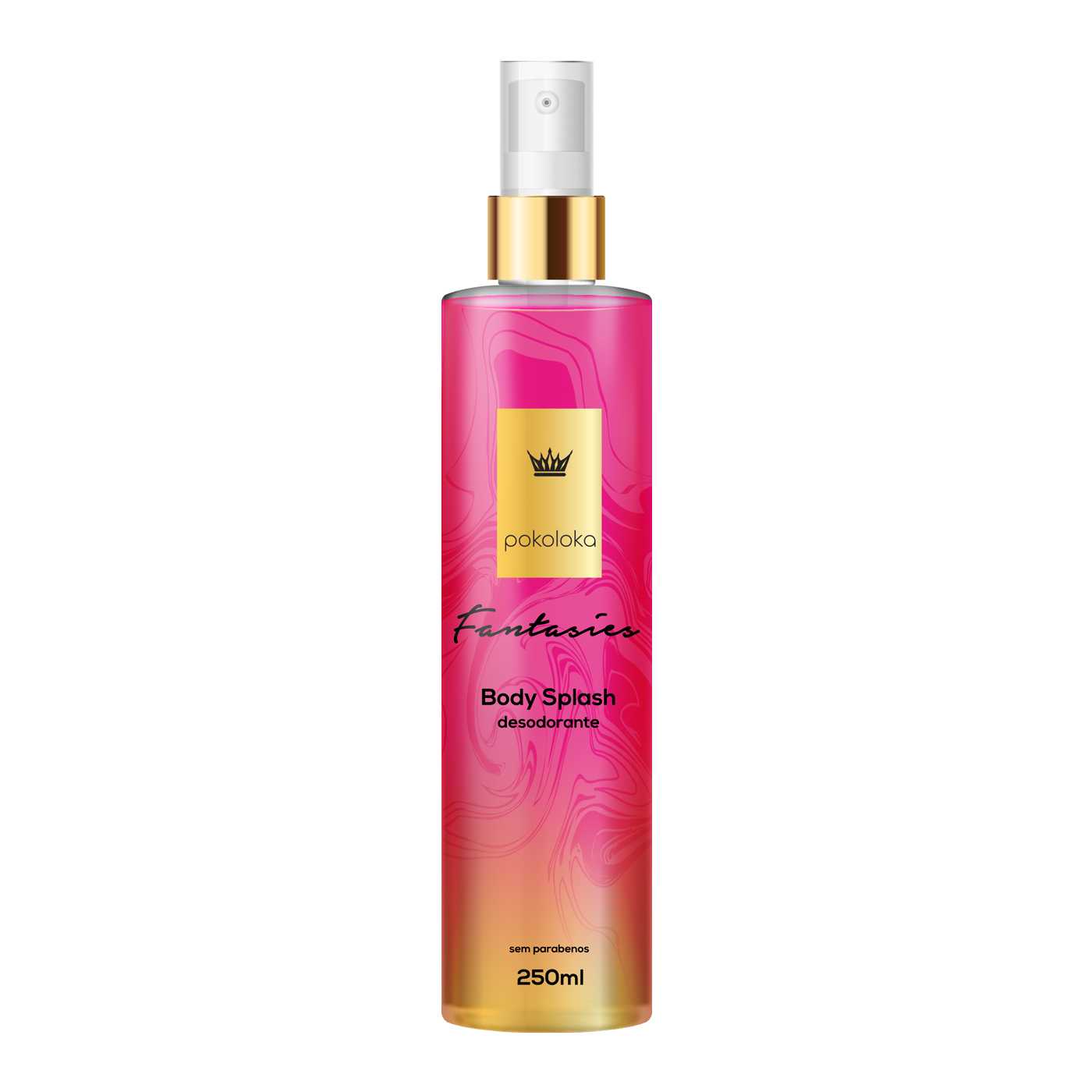 Body Splash Perfumado Fantasies Pokaloka 250ml
