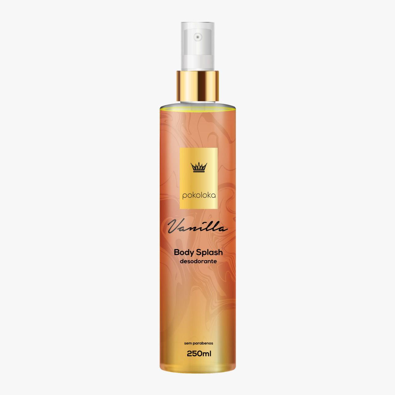 Body Splash Perfumado Vanilla Pokaloka 250ml