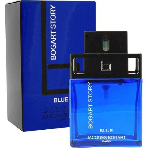 Bogart Story Blue Jacques Bogart Masculino Eau de Toilette 50 ml