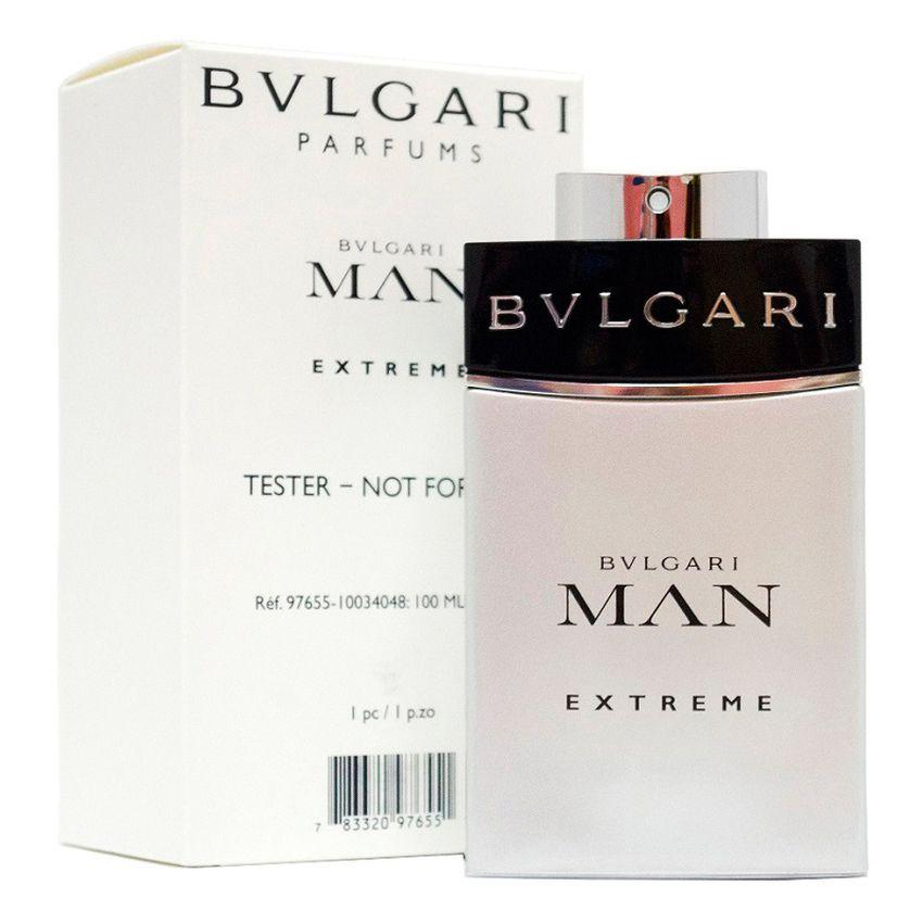 Bvlgari Man Extreme Masculino Eau de Toilette 100ml - Tester
