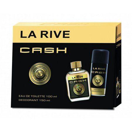 Cash La Rive Kit Masculino EDT 100ML + Desodorante 150ML
